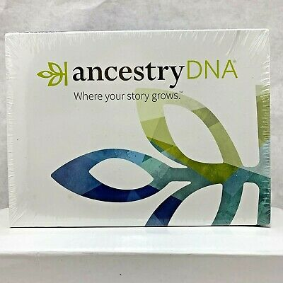 Ancestry DNA Genetic Testing Ethnicity DNA Ancestry Test Kit New Factory Sealed