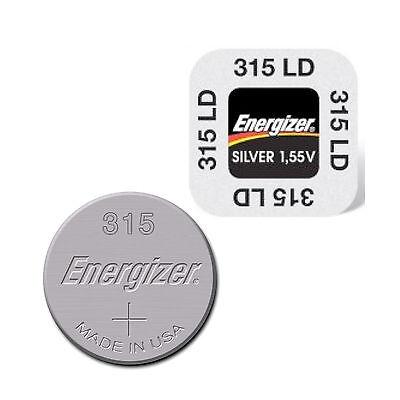 2 x Energizer 315 BATTERIE KNOPFZELLE BATTERIEN - NEU