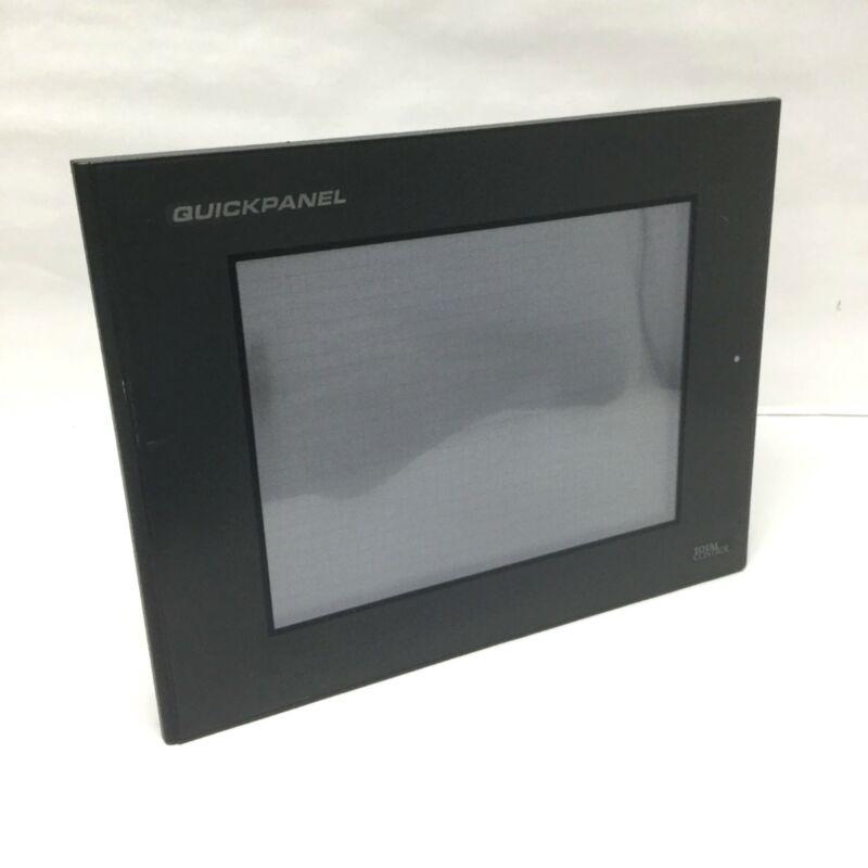 "GE Fanuc CQPICTDE0000-A 10.4"" QuickPanel Touchscreen Operator Interface 24VDC"
