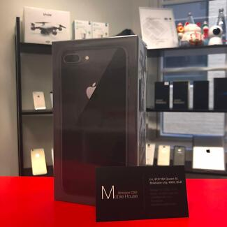 64G iPhone 8 Plus Space Grey Color in Sealed Box, Never opened