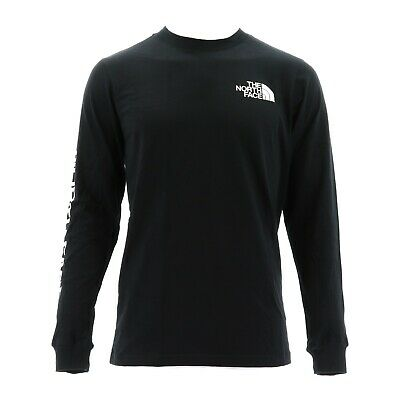 THE NORTH FACE 471K-JK3 MENS LONG SLEEVE TNF SLEEVE HIT TEE