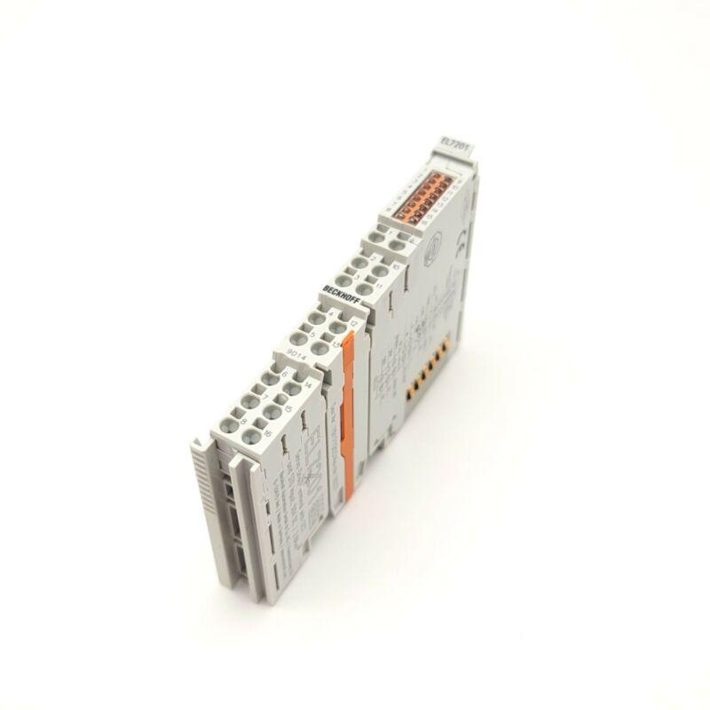 Beckhoff EL7201 EtherCAT Single Channel Servo Drive Terminal 48VDC 2.8A