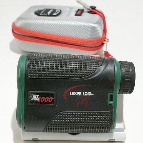 Laser Link Golf XL1000 Laser Golf Rangefinder Works