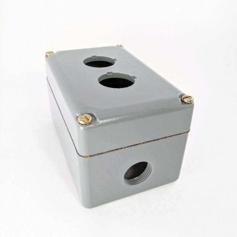 Square D 9001ky2 Aluminum 2 Unit Push Button Station Enclosure
