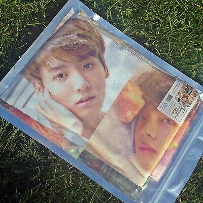 BTS Microfiber Mini Blanket Bangtan Boys 5th Album Photo Concert Sofa Rug K-pop