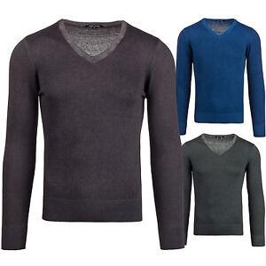 BOLF-LOUIS-PLEIN-6077-Jersey-hombre-Sueter-Chaqueta-de-punto-Camiseta-Classic