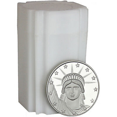 Lady Liberty 1 oz .999 Fine Silver Round - LOT of 20