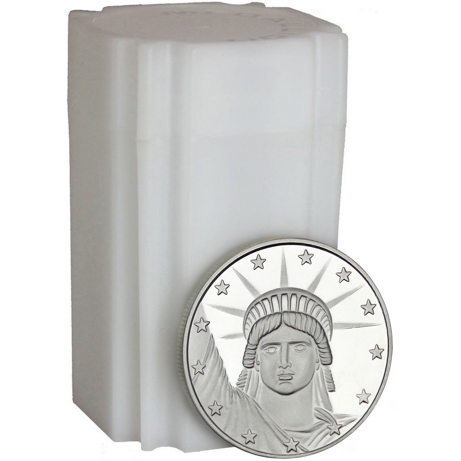 Купить Lady Liberty 1 oz .999 Fine Silver Round - LOT of 20