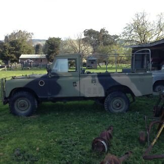 1978 Land Rover (4X4) Soft Top ex army