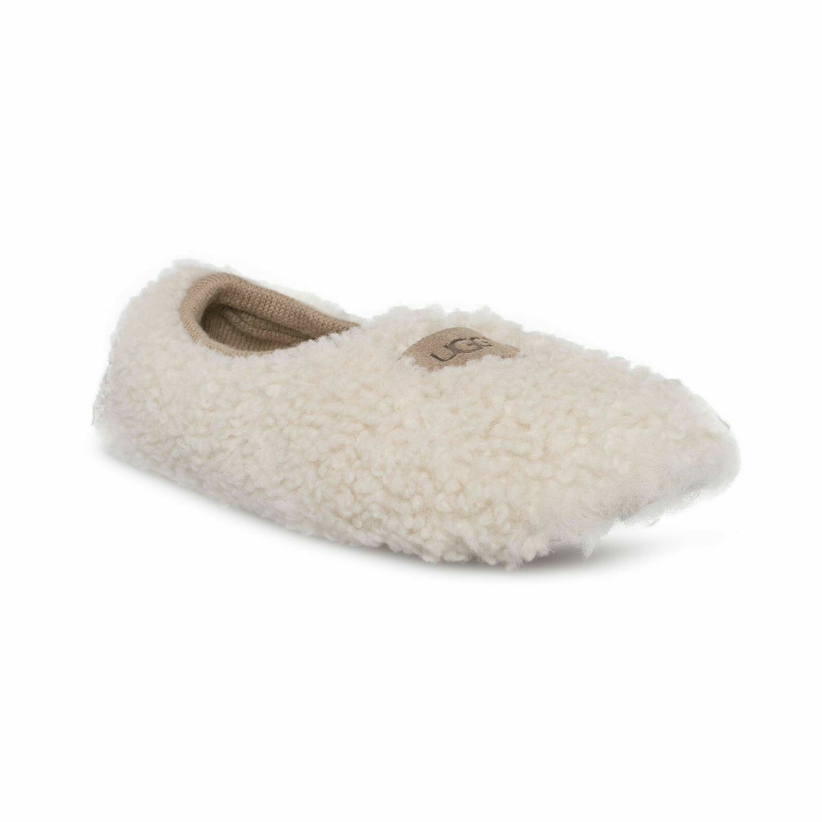 1ab0ae2443f UGG Women's Birche 1007721 Shearling Slip on Slippers Size 8 M Natural