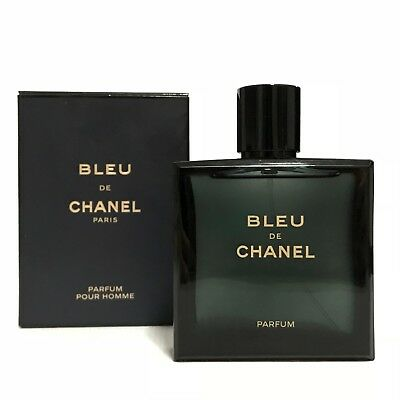 BLUE DE CHANEL PURE PARFUM FOR MEN SPRAY 3.4 OZ 100 ML NEW IN SEALED BOX