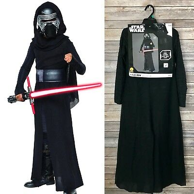 Kylo Ren Costume Child Star Wars Halloween Dress Rubies 620091 Disney M 8-10 NWT