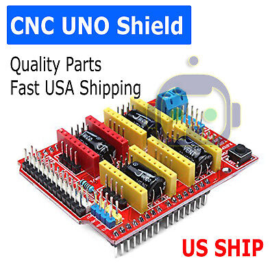 Cnc V3 Engraver 3d Printer Shield For Arduino Uno A4988 Stepper Motor Driver