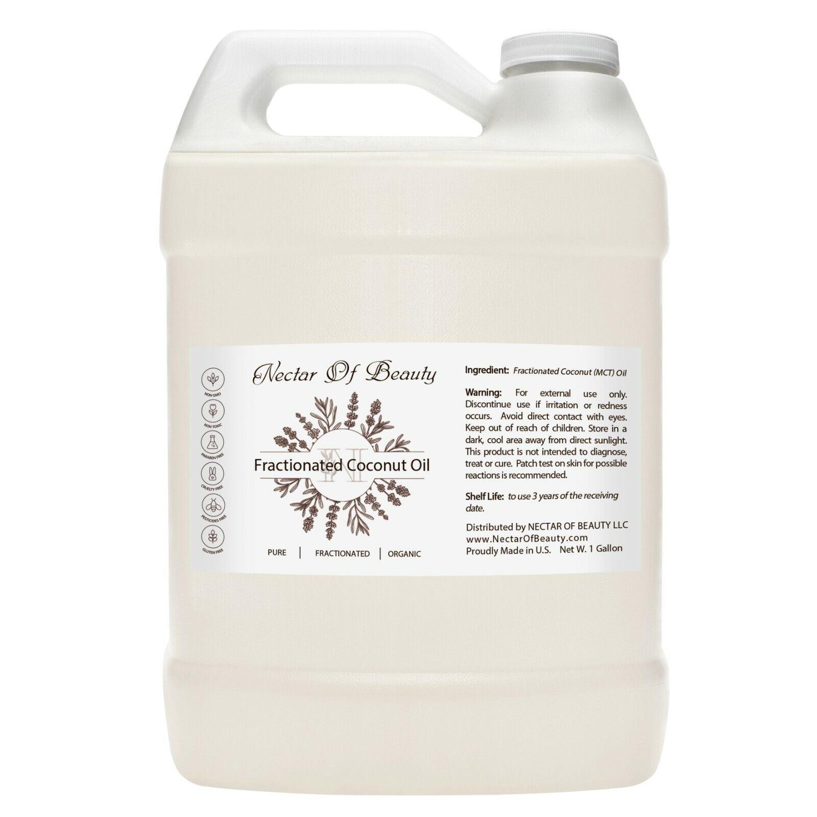 Mct oil organic 100% pure bulk non-gmo 32 oz  1 gallon fract