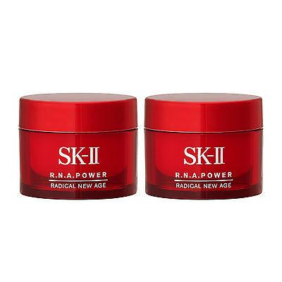 2 X Sk Ii Radical New Age 15G R N A  Power Skincare Moisturizers New Anti Aging