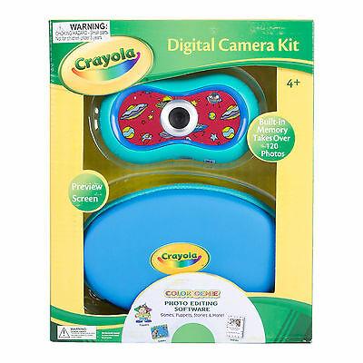 Sakar Crayola 2.1 Mp Digital Camera Kit Built-in Memory P...