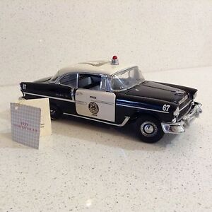 Franklin Mint 1955 Chevrolet Bel Air Police Chief Special Glen Waverley Monash Area Preview