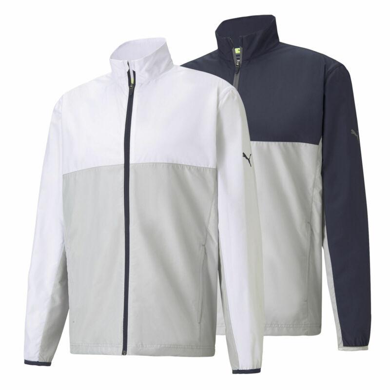 Puma First Mile Wind Golf Full Zip Jacket Mens New