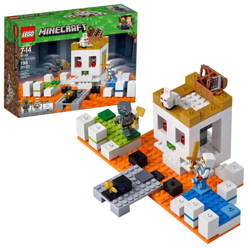 LEGO® Minecraft™ - The Skull Arena 21145 198 Pcs
