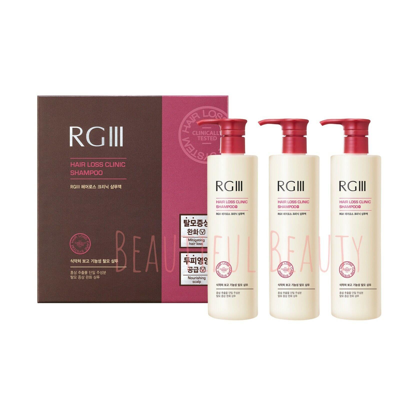 RGIII RG3 Hair Regeneration Hair loss prevention Hair regrow