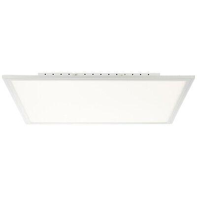 2000 Flat Panel (LED Panel Decken Leuchte FLAT alu weiß 3310 lm Fernbedienung CCT dimmbar B-Ware)