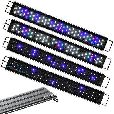 """AQUANET Aquarium LED Light Brightness Adjustable 24""""-33"""" Fish Tank Full Spectrum"""