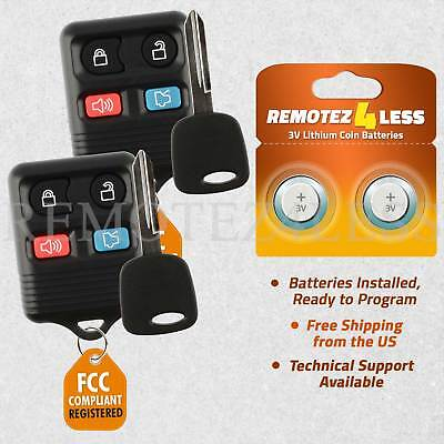 2 for 1998 1999 2000 2001 2002 Lincoln Town Car Keyless Entry Remote Fob Car Key 2000 00 Lincoln Town Car