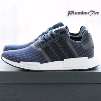 US 8.5 Brand New Adidas NMD R1 Bedwin Grey Core Black