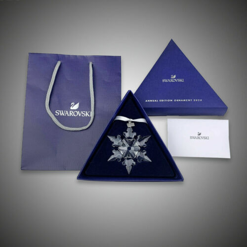 Swarovski Crystal Authentic Annual Edition Large 2020 Christmas Ornament 5511041