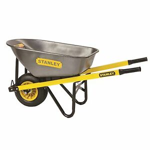 Brand New- Stanley 100L Industrial Steel Tub Wheelbarrow RRP $189 West Ryde Ryde Area Preview