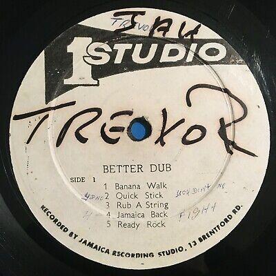 DUB SPECIALIST Better Dub LP on Studio One JA rare