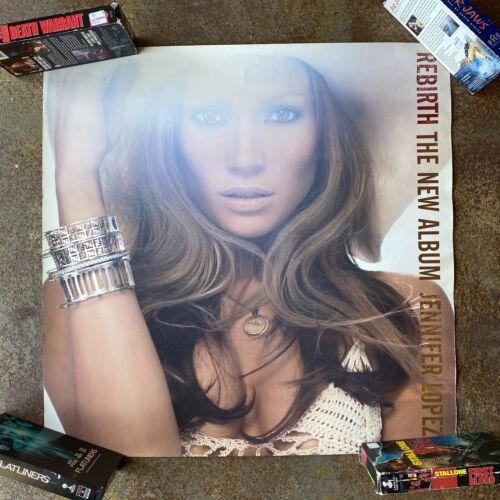 VINTAGE Jennifer Lopez J-Lo Rebirth Poster 24x24