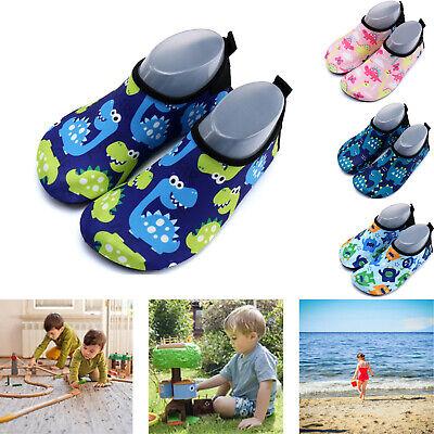 Toddler Kids Water Swim Shoes Aqua Socks Quick Dry Non-Slip Beach Shoes for pool