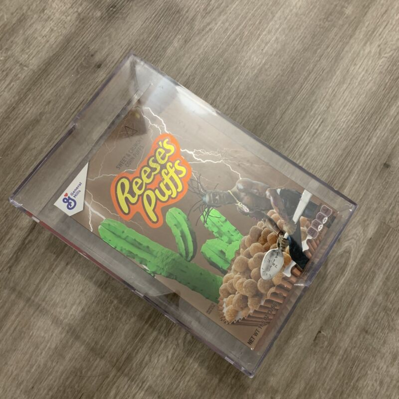 Travis Scott x Reese's Puffs Limited Edition Cereal Box