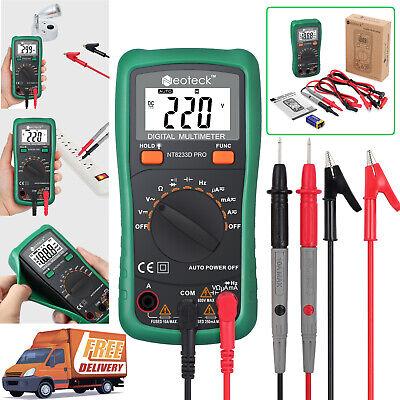 Digital Multimeter Dcac Voltmeter Ammeter Ohmmeter Volt Tester Diodes Meter New