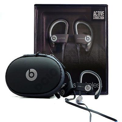 Beats by Dr. Dre Powerbeats 2 Wireless Ear-Hook Headphones - Black BRAND NEW