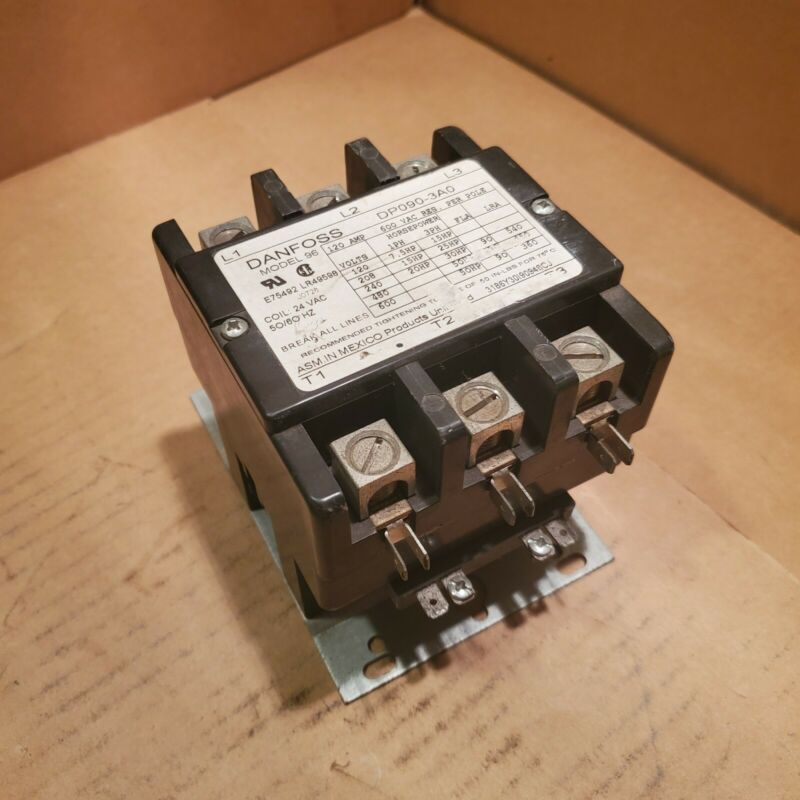 Danfoss Model 96 Contactor 120/240V Coil 24V