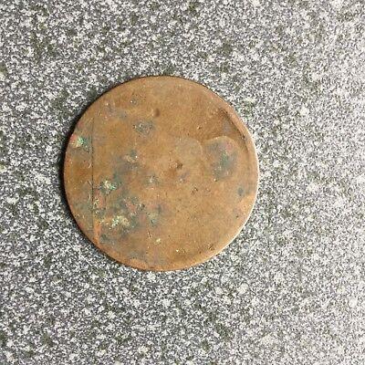1860 One Penny Queen Victoria