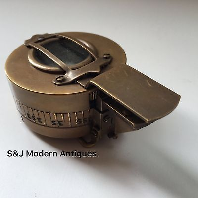 Soldiers Military Compass Vintage Brass WW2 Replica 1940 Navigation Mark 3