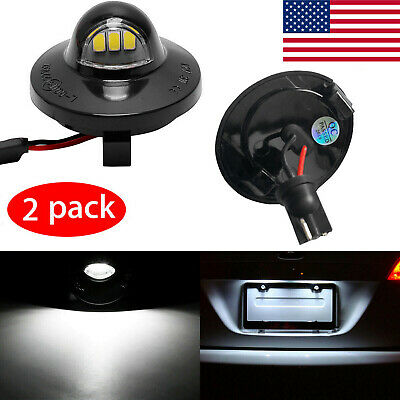 2x LED License Plate Light Assembly Replacemen For Ford F150 F250 F350 1990-2014