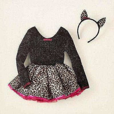 The Children's Place Cat Costume Girls Size XXS 2 / 3 Leopard NEW! (Costumes Places)
