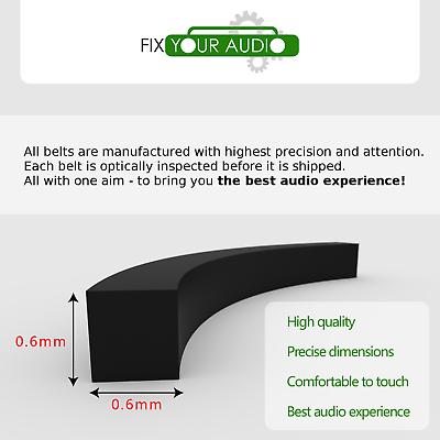 WM-B39 Walkman Belt for Sony WM-55 WM-AF55 WM-A39 WM-AF56 WM-AF62 WM-AF61