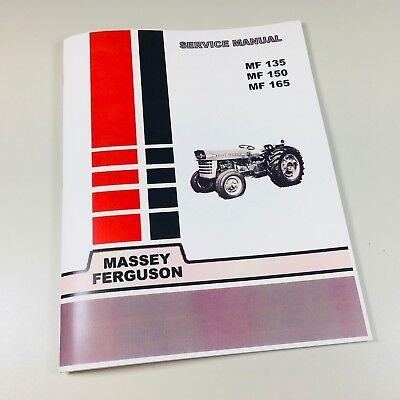 - 135 Massey Ferguson Tractor Technical Service Shop Repair Manual MF135 MF