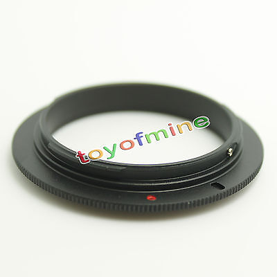 (58mm Macro Reverse Adapter Ring for CANON EOS EF Mount)