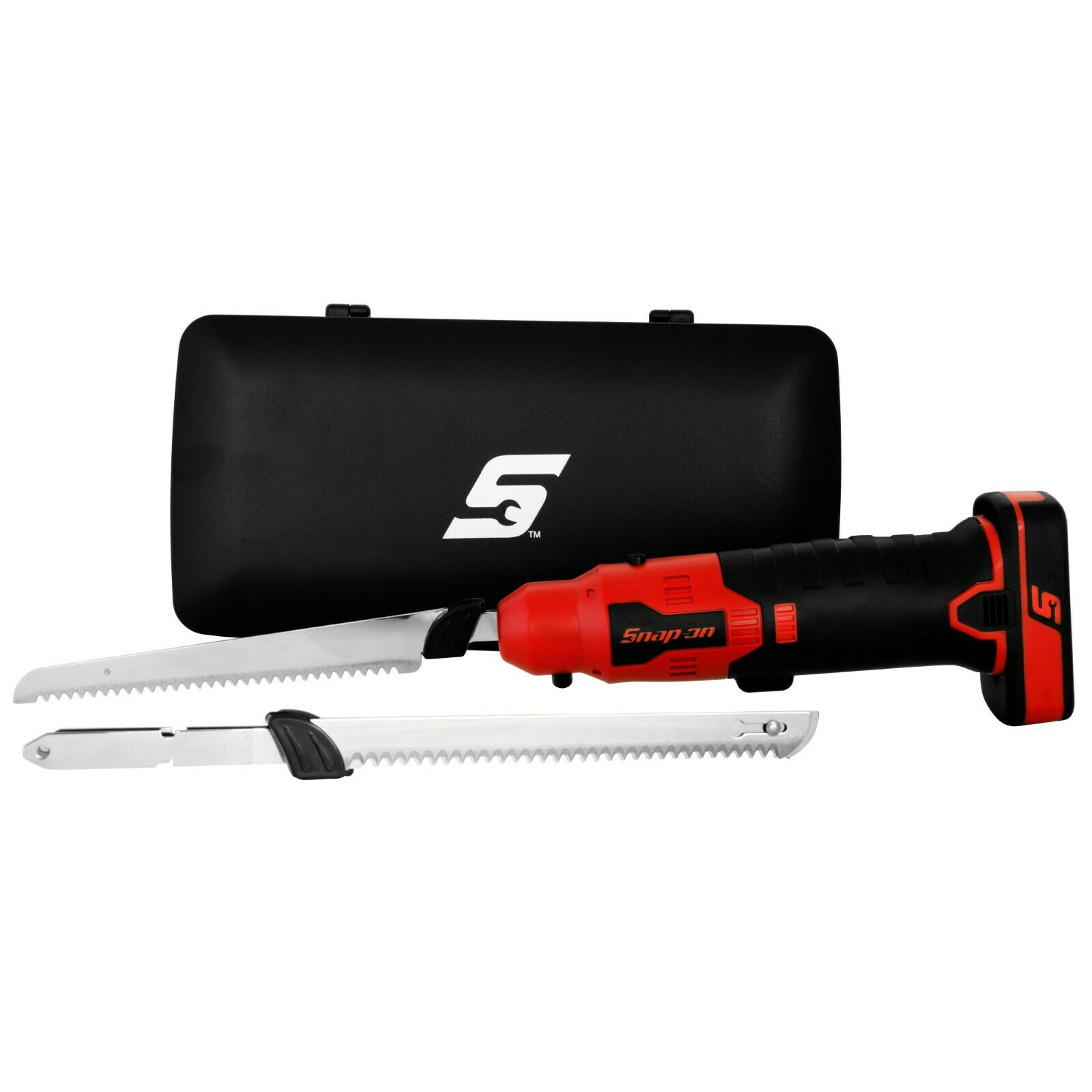 snap on rechargeable electric knife kit