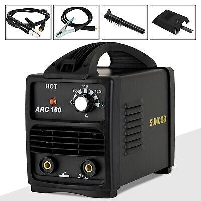 110v Arc Welder 160amp Stick Welder Portable Mma Ac Welding Machine Black