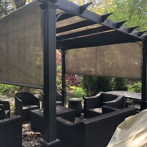 Patio furniture - Metal Pergola with shade included