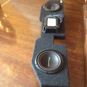 Set of pioneer subs out of my O2 Dodge