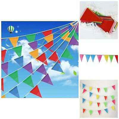 Colorful Flag Banner (Flag Banner Decoration Birthday Christmas Party Supplies Colorful Pennant)