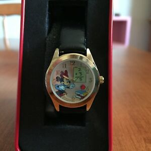 NEW IN CASE Minnie Mouse Teacher Watch